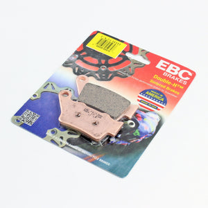 Brakecrafters Brake Pads 2013 - 2017 Triumph Daytona 675 R - Rear EBC HH Rated Sintered Brake Pads - 1 Pair