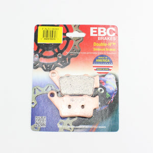 Brakecrafters Brake Pads 2010 - 2017 BMW S1000RR - Rear EBC HH Rated Sintered Brake Pads - 1 Pair