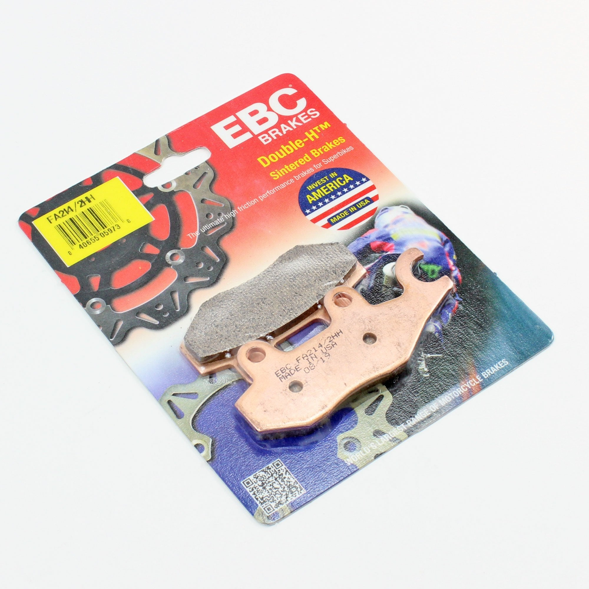Brakecrafters Brake Pads 2006 - 2017 Triumph America - Rear EBC HH Rated Sintered Brake Pads - 1 Pair