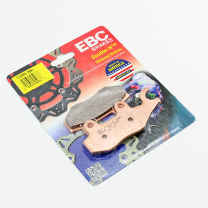 Brakecrafters Brake Pads 2012 - 2015 Triumph Tiger 1200 Explorer - Rear EBC HH Rated Sintered Brake Pads - 1 Pair