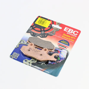Brakecrafters Brake Pads 2010 - 2016 Triumph Scrambler - Rear EBC HH Rated Sintered Brake Pads - 1 Pair