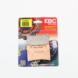Brakecrafters Brake Pads 1990 - 1999 Yamaha FZR600 - Front EBC HH Rated Sintered Brake Pads - 1 Pair