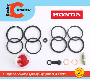 Brakecrafters Caliper Rebuild Kit 1999 2007 HONDA CBR 600F4/F4i SINGLE FRONT BRAKE CALIPER NEW SEAL KIT