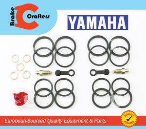 Brakecrafters Caliper Rebuild Kit 2006 - 2013 YAMAHA XV1900 RAIDER - FRONT BRAKE CALIPER NEW SEAL KIT
