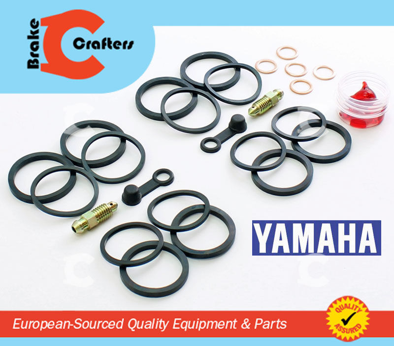 Brakecrafters Caliper Rebuild Kit 2006 - 2013 YAMAHA XV1900 ROADLINER- FRONT BRAKE CALIPER NEW SEAL KIT
