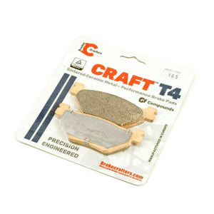 2009 - 2016 YAMAHA VMX1700 V-MAX - CRAFT T4 REAR CERAMIC BRAKE PADS - 1 PAIR