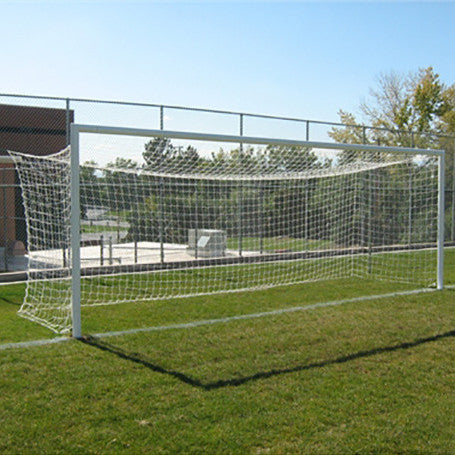 "4"" Round or Square Socketed International Match Soccer Goal"