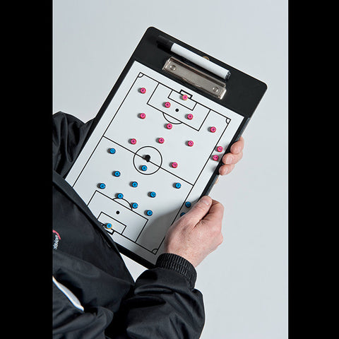 Pro Soccer Coaches Double-Sided Clipboard