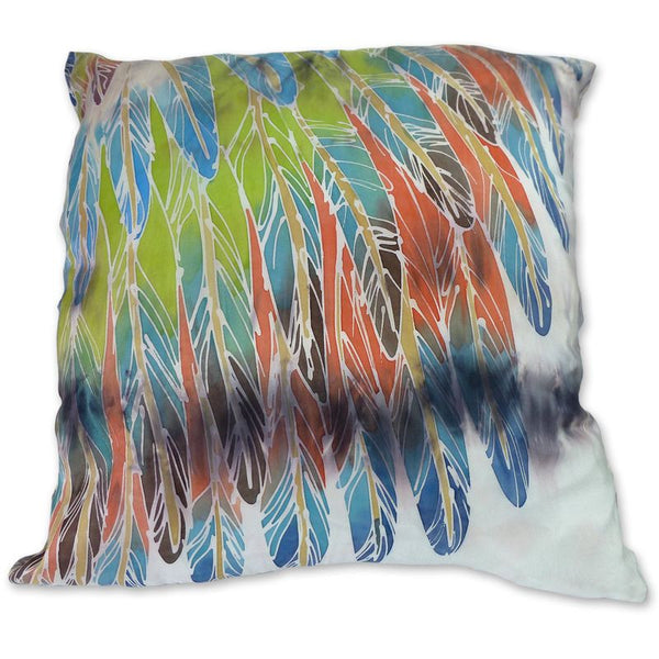 Brown Parrot Wings cushion
