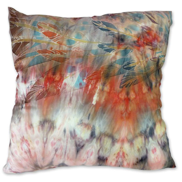 Subtle Red Wings cushion
