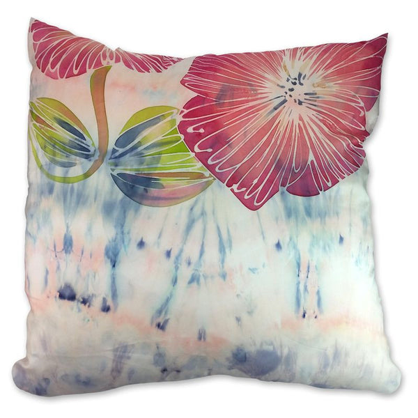 Summer Garden Pink Blush cushion
