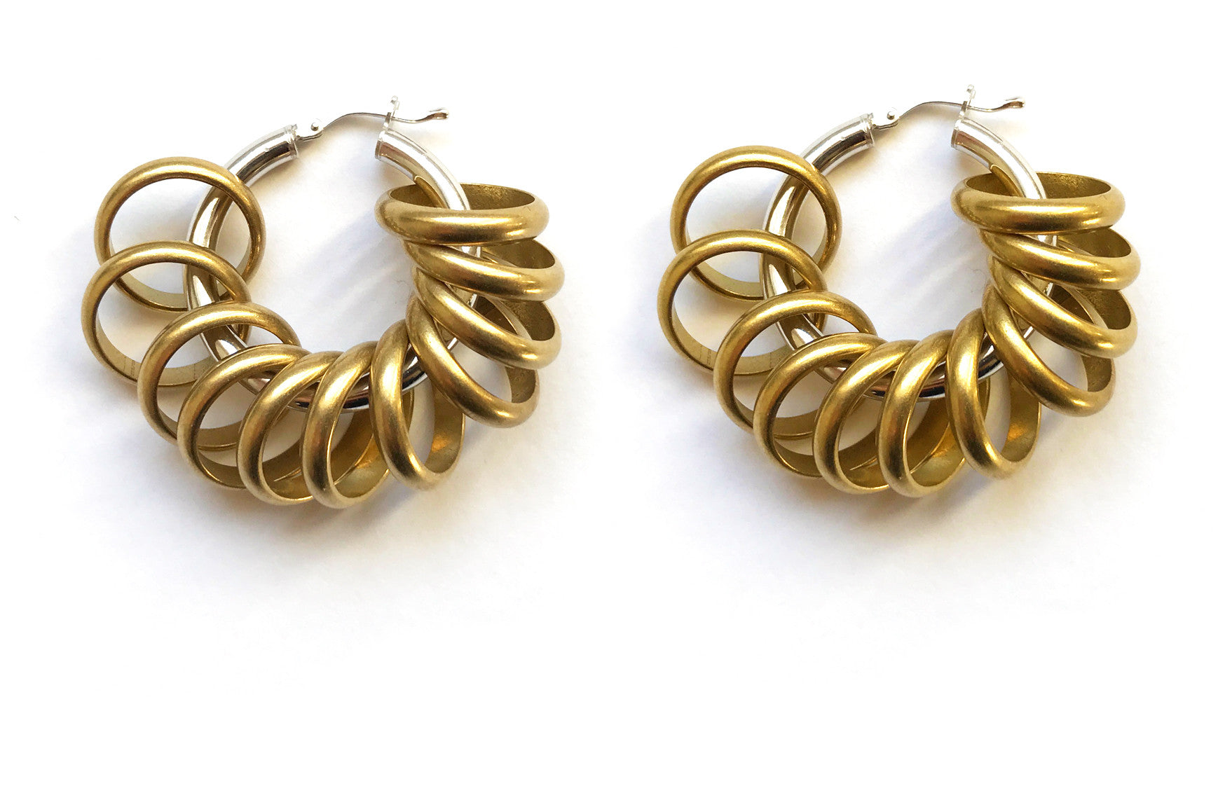 Daisy Chain Hoops
