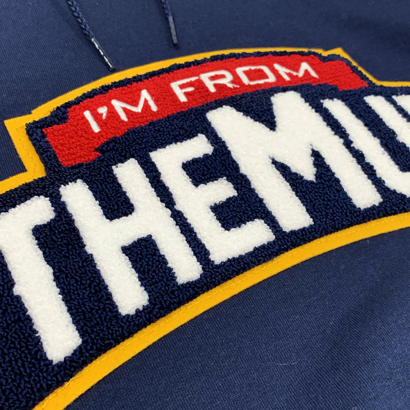 IFTM Chenille Patch Hoodie (Navy)