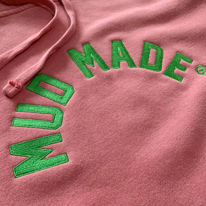 Mud Made Pigment Dyed Hooded Pullover