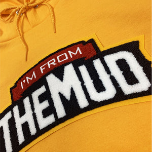 IFTM Chenille Patch Hoodie (Gold)