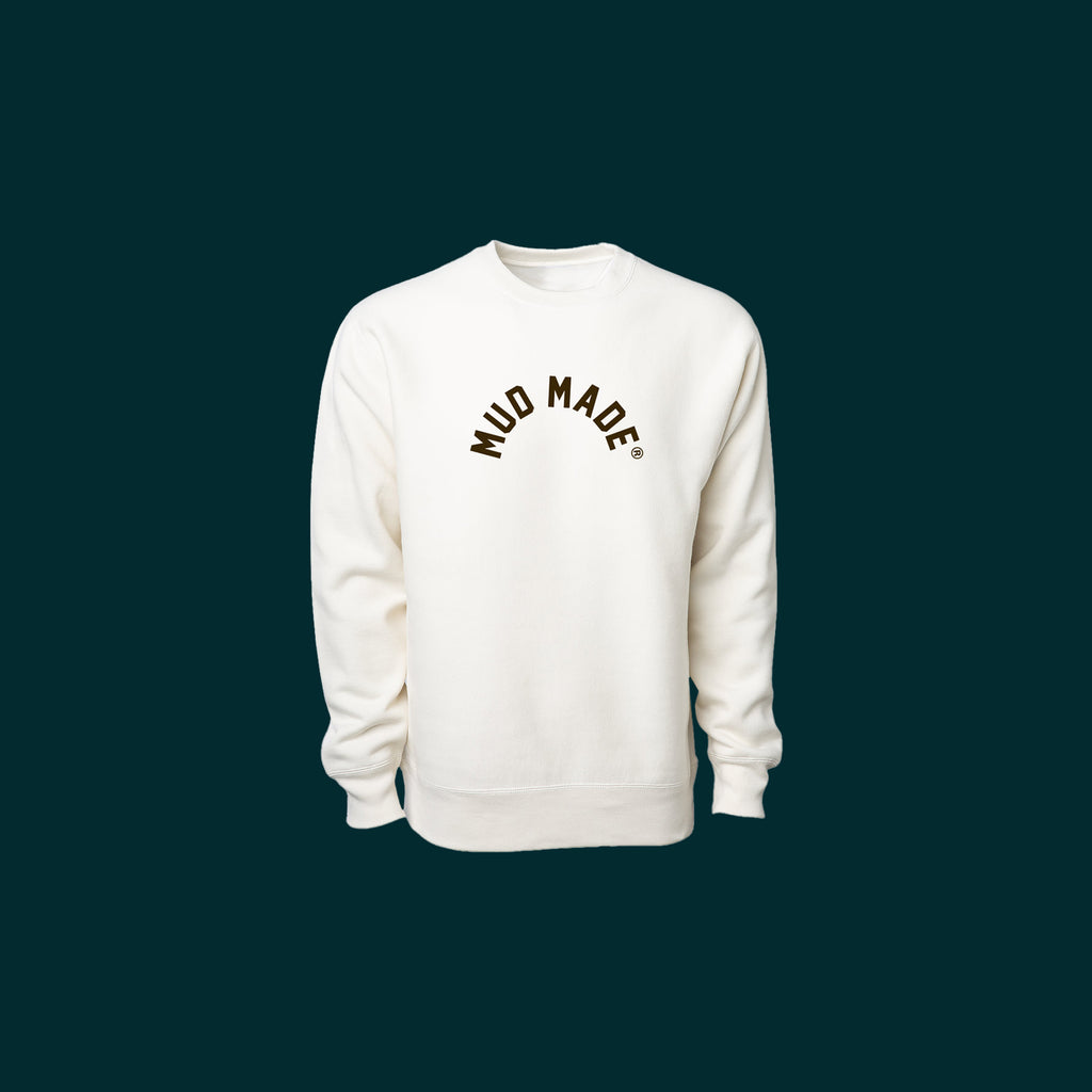 MUD MADE® Heavyweight Crewneck (Mud Brown)