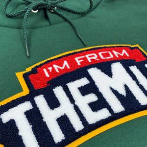 IFTM Chenille Patch Hoodie (Green)