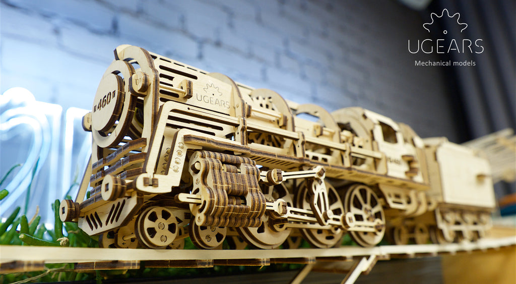 Fed Up With Facebook, Twitter & Snapchat? Get some Old-School Off-line Fun with 3D Mechanical Models from Ugears