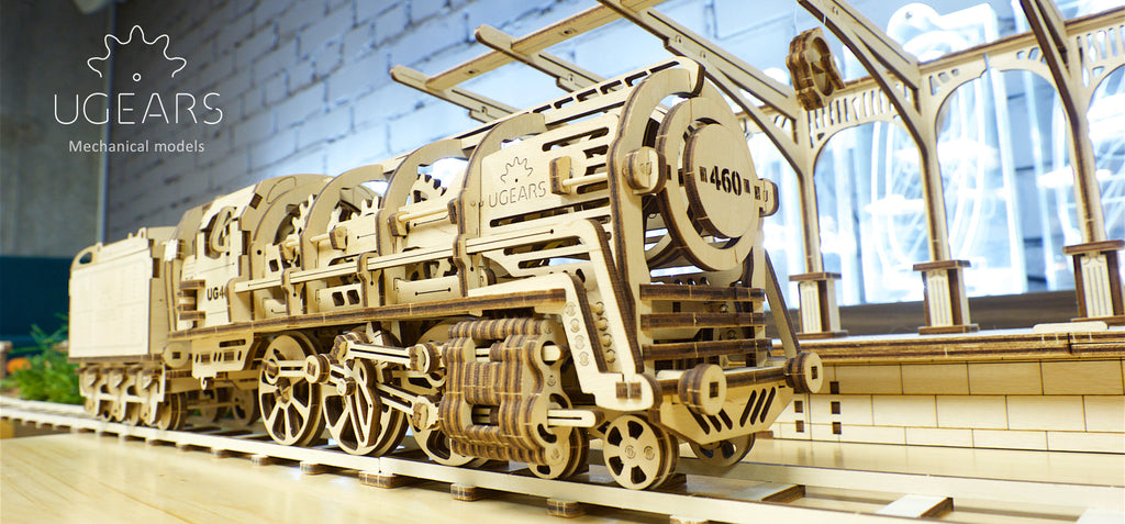 Explore Your Creative Side with Ugears 3 Dimensional Plywood Models