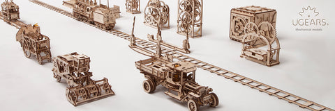 Ugears Mechanical Model collection