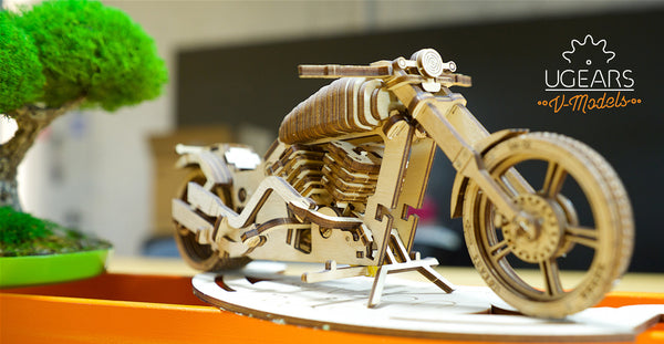 UGears Wooden Mechanical Models