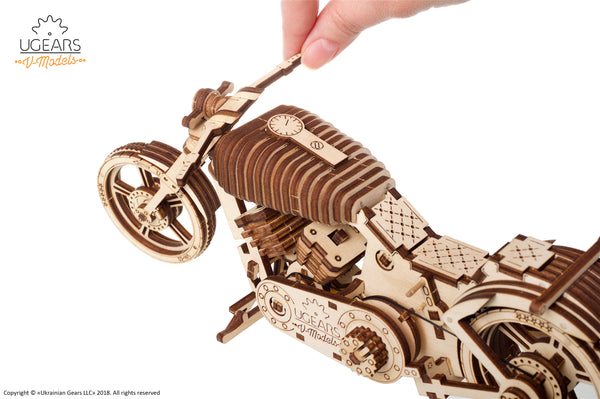 Bike - build your own moving model by UGears - UGears