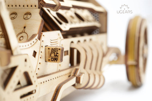 U-9 Grand Prix Car - build your own moving model by UGears - UGears