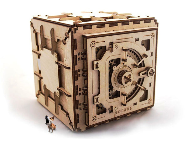 Safe - build your own working model by UGears - UGears - 2