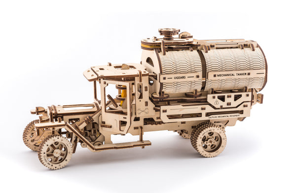 Tanker truck - build your own moving model by UGears - UGears