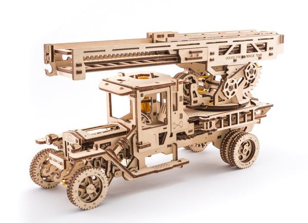 Fire Truck - build your own moving model by UGears