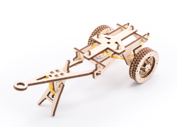 Tanker, Ladder and Trailer additions for Truck - build your own working models by UGears - UGears - 11