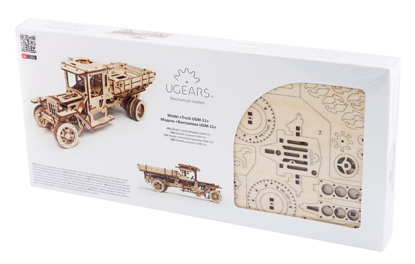 Tanker, Ladder and Trailer additions for Truck - build your own working models by UGears - UGears - 13