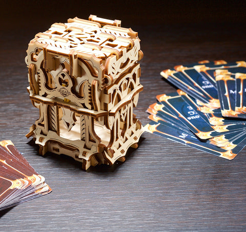 Deck Box by UGears Games -  wooden 3D puzzle model kit - UGears