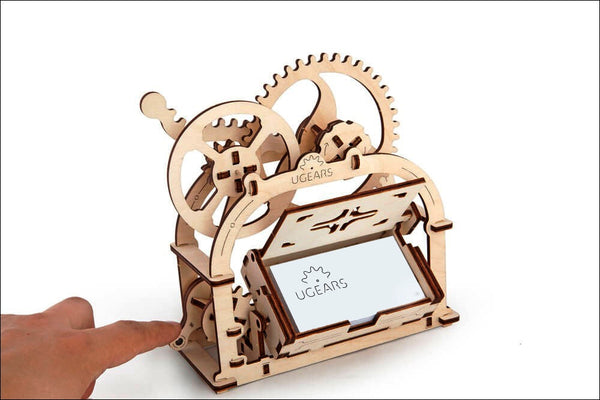 Treasure Box - build your own working model by UGears - UGears - 7