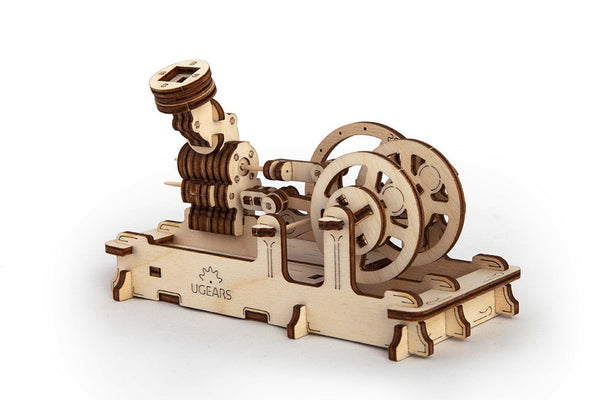 Engine - build your own working model by UGears - UGears - 4