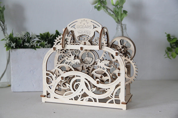 Theatre - build your own moving model by UGears - UGears - 5