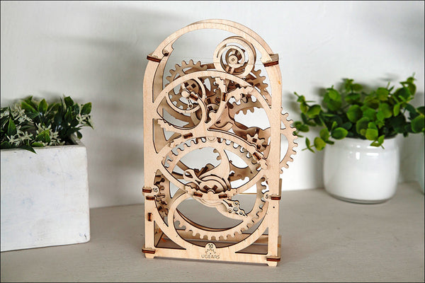 Chronograph - build your own working model by UGears - UGears - 9