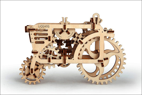 Tractor - build your own moving model by UGears - UGears - 4