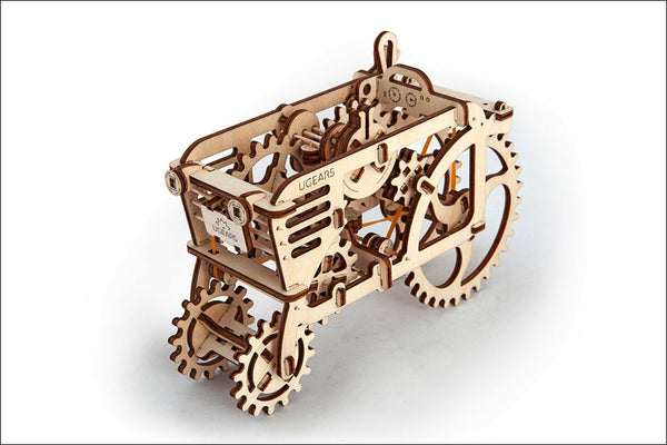 Tractor - build your own moving model by UGears - UGears - 5