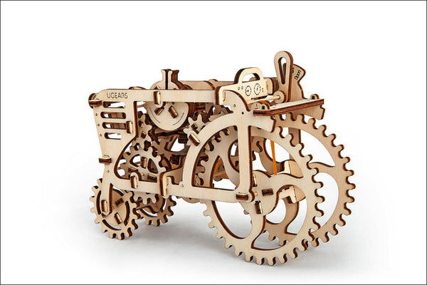 Tractor - build your own moving model by UGears - UGears - 6