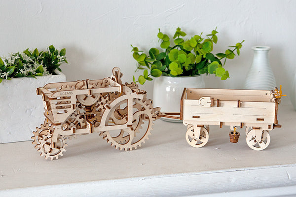 Trailer - build your own moving model by UGears - UGears - 5