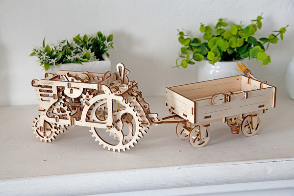 Trailer - build your own moving model by UGears - UGears - 4