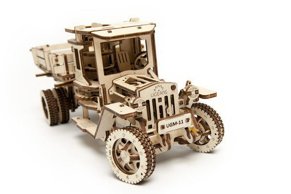 Truck UGM-11 - build your own moving model by UGears - UGears - 4