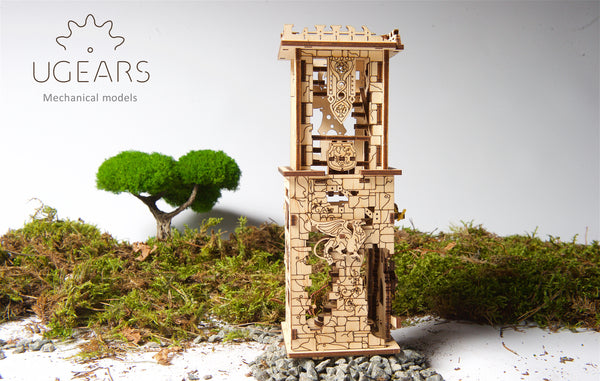 Archballista-Tower - build your own working model by UGears - UGears
