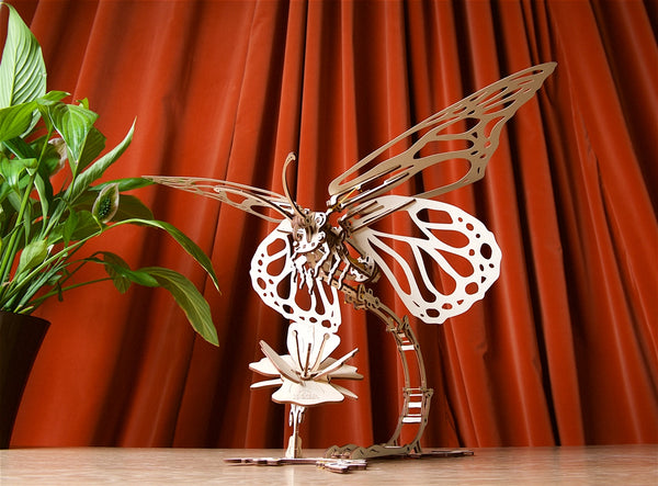 Butterfly - mechanical model kit by UGears - UGears