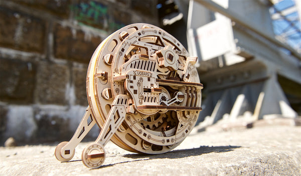 Monowheel - build your own moving model by UGears - UGears