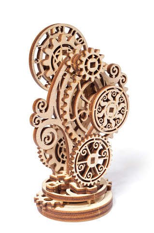 Steampunk Clock - mechanical model kit by UGears - UGears