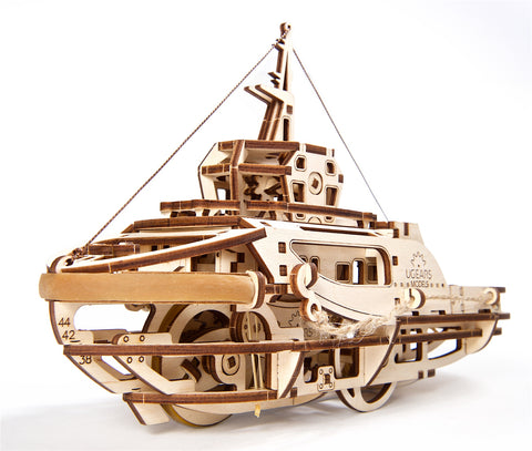 Tugboat  - build your own moving model by UGears - UGears