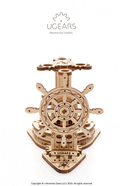 Wheel-Organizer - mechanical model kit by UGears - UGears