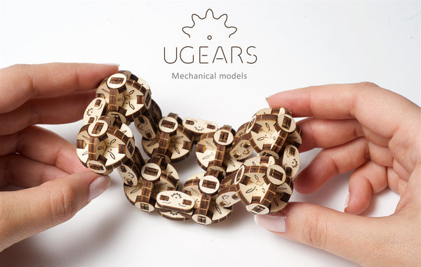 Flexi-Cubus - build your own working model by UGears - UGears